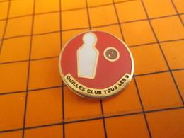 2219 Pin's Pins / Beau Et Rare / Thème SPORTS / BOWLING CLUB DE QUILLES TOUS LES 9 - Bowling
