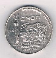 200 PESOS 1985 MEXICO /193/ - Mexique