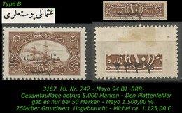 TURKEY ,EARLY OTTOMAN SPECIALIZED FOR SPECIALIST, SEE.. Mi. Nr. 747 - Mayo 94 BJ -RRR- 50 Marken ! - 1920-21 Anatolië