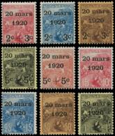 MONACO Poste ** - 34/42, 9 Valeurs, Luxe: Orphelins, Mariage - Cote: 850 - Monaco