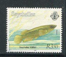 SEYCHELLES- Y&T N°763- Oblitéré (poissons) - Seychelles (1976-...)
