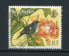 SEYCHELLES- Y&T N°762- Oblitéré (oiseaux) - Seychellen (1976-...)