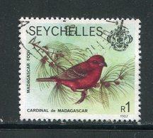 SEYCHELLES- Y&T N°380- Oblitéré (oiseaux) - Seychelles (1976-...)