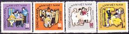 Vietnam (Ausgabe Für Vietcong) - 2 Jahre Rep. Südvietnam (MiNr: 39 + 41/3) 1971 - (*) Wie Verausgabt - Vietnam