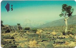 Oman - Juniper - 44OMND - 08.1999, 50.000ex, Used - Oman