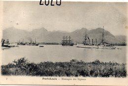 MAURICE : Île Maurice Port Louis Montagne Des Signaux ; édit. R Bourgault Du Coudray N° 7 - Mauritius