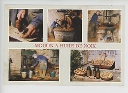 Martel Les Landes (46) M. Castagné Huilerie Familiale Du Lac De Diane, Moulin à Huile De Noix (multivues) - Ambachten