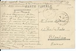 Zichtkaart Arlon - Afstempeling BELGIQUE *2* BELGIE En CORRESPONDANCE PRIVEE ARMEE BELGE - Guerre 14-18