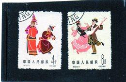 B -  1963 Cina - Danze Folkloristiche - Gebraucht