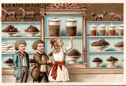 A LA MERE DE FAMILLE FABRIQUE DE CHOCOLAT  3 RUE TOURNON PARIS - Chocolat