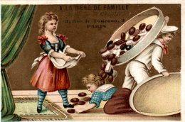 A LA MERE DE FAMILLE FABRIQUE DE CHOCOLAT  3 RUE TOURNON PARIS  Chocolat Renverses - Chocolat