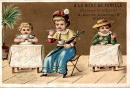 A LA MERE DE FAMILLE FABRIQUE DE CHOCOLAT  3 RUE TOURNON PARIS  Le Gouter - Chocolat