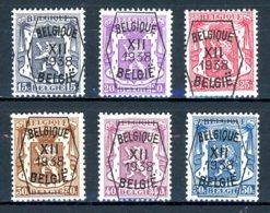 BE  PRE399 - 404   ---   Surcharge A  --  X  --  Infime Charnière  --  Etat Parfait... - Typos 1936-51 (Petit Sceau)