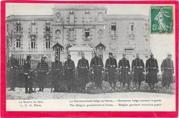 GUERRE 14/18 - Le Gouvernement Belge Au HAVRE - War 1914-18