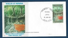 """Wallis FDC YT 322 """" Mission """" Enveloppe Du 16.1.1985 - FDC"""