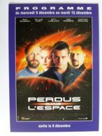 PERDUS DANS L' ESPACE - Cinéma / Film  - Carte Publicitaire Pathé Affiche Ciné - Astronomie