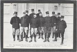 GUERRE 14/18 - Le Gouvernement Belge Au HAVRE - Officiers D'Etat Major - War 1914-18