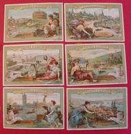 6 Chromo Liebig : Heureuse Jeunesse. 1898. S 557 - Liebig