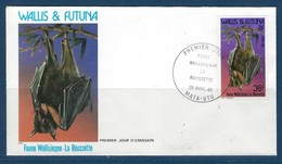 """Wallis FDC YT 330 """" Faune """" 1985 Enveloppe Du 29.4.1985 - FDC"""