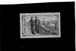 B - 1953 Cina -  Mao Tse Tung E Stalin Al Cremlino (no Gum) - 1949 - ... People's Republic