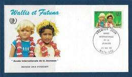 "Wallis FDC YT 331 "" Jeunesse "" 1985 Enveloppe Du 20.5.1985 - FDC"