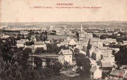 CPA KERITY - VUE PANORAMIQUE DU BOURG - DIRECTION DE PAIMPOL - France