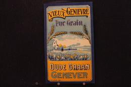 A.V.B.2/ Distillerie Stokerij - Vieux Genèvre Pur Grain Oude Graan Genever - 8,5 X14,5 Cm / 6.5 X 10.5 (Déposé 887 ) - Autres