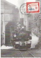 Expo Phila Munchen 1996 Dampflokomotive - Cartoline Maximum