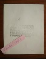 FAIRE-PART DECES 1855 BRUNEAUX RETIF GALLETTE MAREUSE Semur Bourgogne Rethel * - Obituary Notices