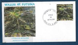 "Wallis FDC YT 393 "" Etoile De Béthléem "" Enveloppe Du 9.1.1990 - FDC"