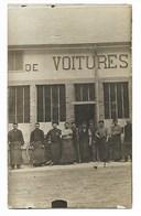 CARTE PHOTO 1910 CHAMPAGNOLE Atelier Automobile ANDRé Près Arbois Dole Poligny Lons Le Saunier Saint Claude Dampierre - Champagnole