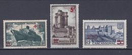 FRANCE   Y&T N °490 - 491 Et 502  NEUF ** Coté 9.00 Euros - Frankreich
