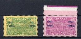 GUYANE : N° 95 Et N° 96 ** . TB . 1923 . ( CATALOGUE YVERT ) . - Französisch-Guayana (1886-1949)