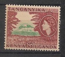 Kenya-Uganda - 1954-58 - N°Yv. 96 - Kilimandjaro - Neuf Luxe ** / MNH / Postfrisch - Kenia (1963-...)