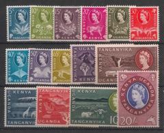 Kenya-Uganda - 1960 - N°Yv. 105 à 120 Sauf 117 - 15 Values - Neuf Luxe ** / MNH / Postfrisch - Kenia (1963-...)