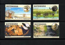 BOTSWANA, 2019, ANIMALS,BAT, TREES,  4v,, MNH**NEW!! - Ohne Zuordnung