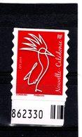 Nouvelle-Calédonie  Usage Courant Issu Du Carnet Cagou Nouvelle Série 2019  **  Werling - Unused Stamps