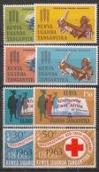 Kenya-Uganda - 1963 - N°Yv. 121 à 128 - Complet 8v - Neuf Luxe ** / MNH / Postfrisch - Kenia (1963-...)