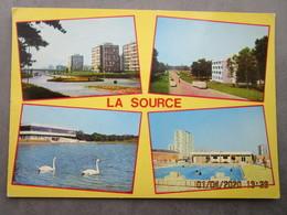 CP 45 Loiret ORLEANS LA SOURCE - L'université Et Son Lac , La Source , La Piscine, Immeubles Hlm. 1978 - Orleans
