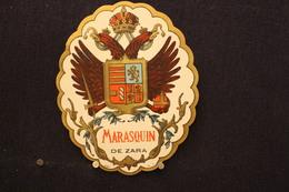 A.V.B.2 / Distillerie Stokerij - Etiquette De Liqueur Marasquin De Zara - Autres