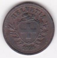 SUISSE. 1 RAPPEN 1924 B. BRONZE - Suisse