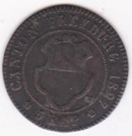 Suisse, Canton De Fribourg / Freiburg, 5 Rappen 1827, KM# 82 - Suisse