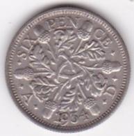 Grande Bretagne. 6 Pence 1934. George V, En Argent - 1902-1971 : Monnaies Post-Victoriennes