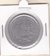Vietnam 1 Dong 1946, Aluminium, KM# 3, Frappe Décalée (voir Scan) - Vietnam
