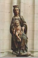 C. P. -  PHOTO - CLERY SAINT ANDRÉ - BASILIQUE NOTRE DAME - STATUE EN BOIS - 310 - VALOIRE - France