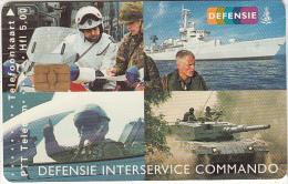 NETHERLANDS - Defensie Interservice Commando, Tirage 10200, Used - Armée
