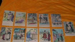 LOT DE 11 CARTES POSTALES ANCIENNES NON CIRCULEES DATE ?.../ GAULOISERIES FRANCAISES..A LA CAMPAGNE - Humour