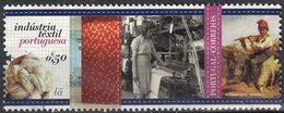 Portugal 2017 Oblitéré Used Industrie Textile Portugaise Wool Laine Lã SU - 1910-... République