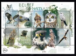 Nederland 2020, Nvph ?? , Mi Nr ??, Beleef De Natuur, Roofvogels, Birds Of Prey, Uilen, Owl, Valk, Falcon - Neufs
