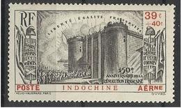 Indochine PA N° 16 Neuf Avec Charnière De 1939 - Révolution Française - Luftpost